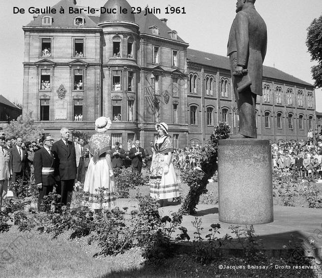28/06-02/07/1961 : Voyage dans la Meuse, les Vosges, la Meurthe-et-Moselle et la Moselle