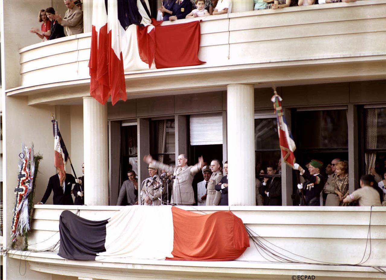 03-07/06/1958 : Voyage du général de Gaulle en Algérie