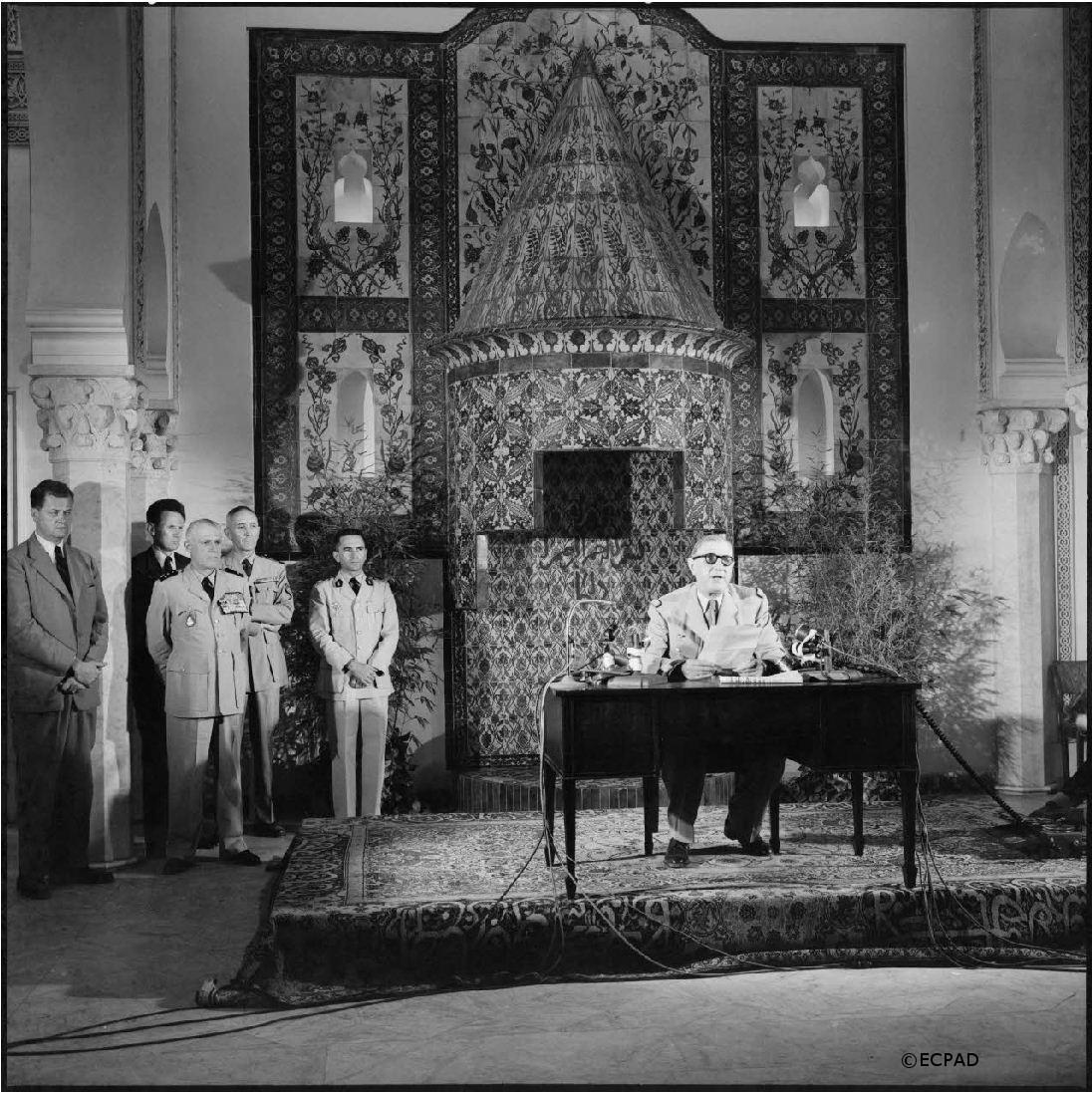 01-03/07/1958 : Tournée d'inspection de l'armée en Algérie