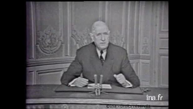 31/12/1960 : Vœux présidentiels aux Français pour l'année 1961