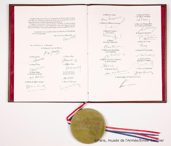 23/04/1961 : Application de l'article 16 de la Constitution