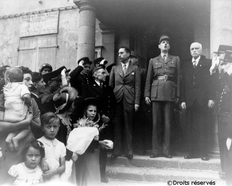 20/08/1944 : Arrivée en France du général de Gaulle