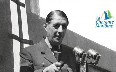 Exposition «Les voyages du général de Gaulle en Charente-Maritime» : journées du Patrimoine et conférence