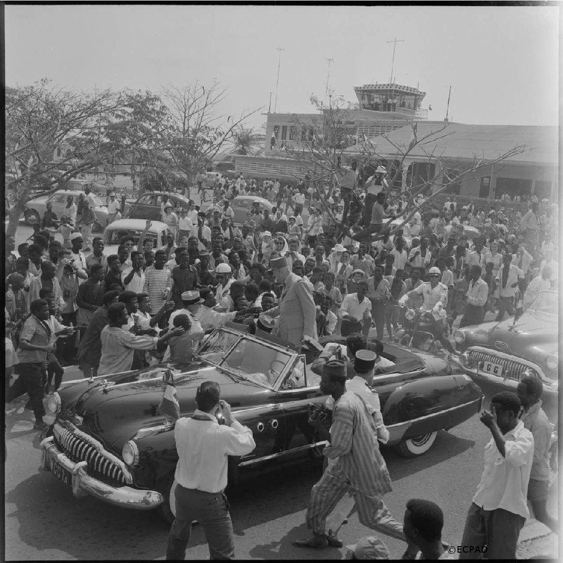 20-29/08/1958 : Voyage en Afrique subsaharienne