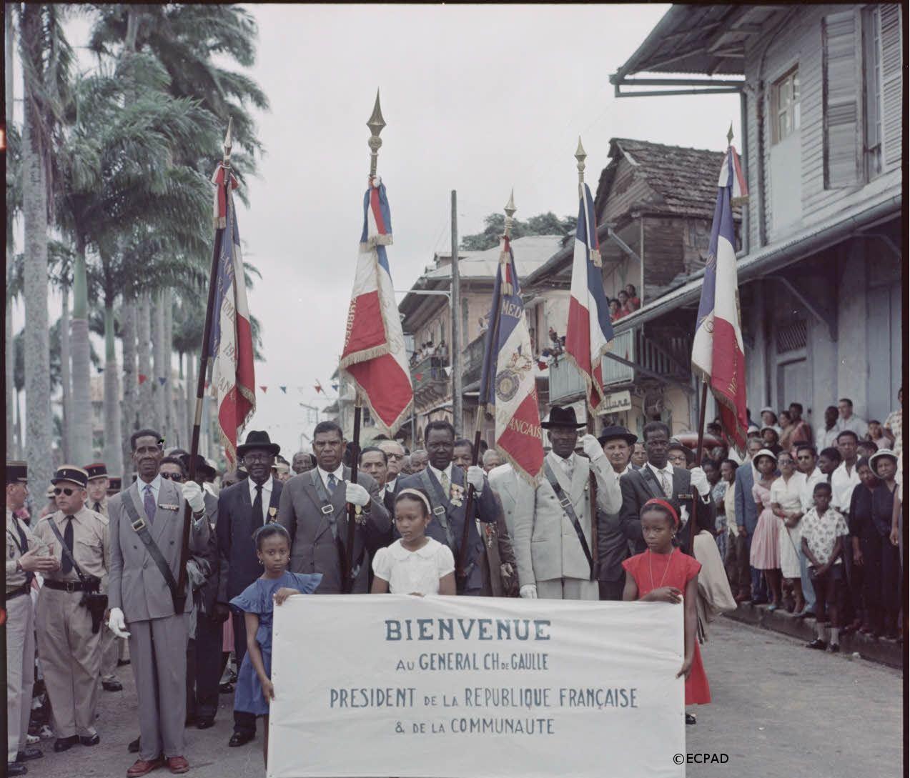 18/04-04/05/1960 : Voyage officiel au Canada, aux Etats-Unis, en Guyane, en Martinique et en Guadeloupe