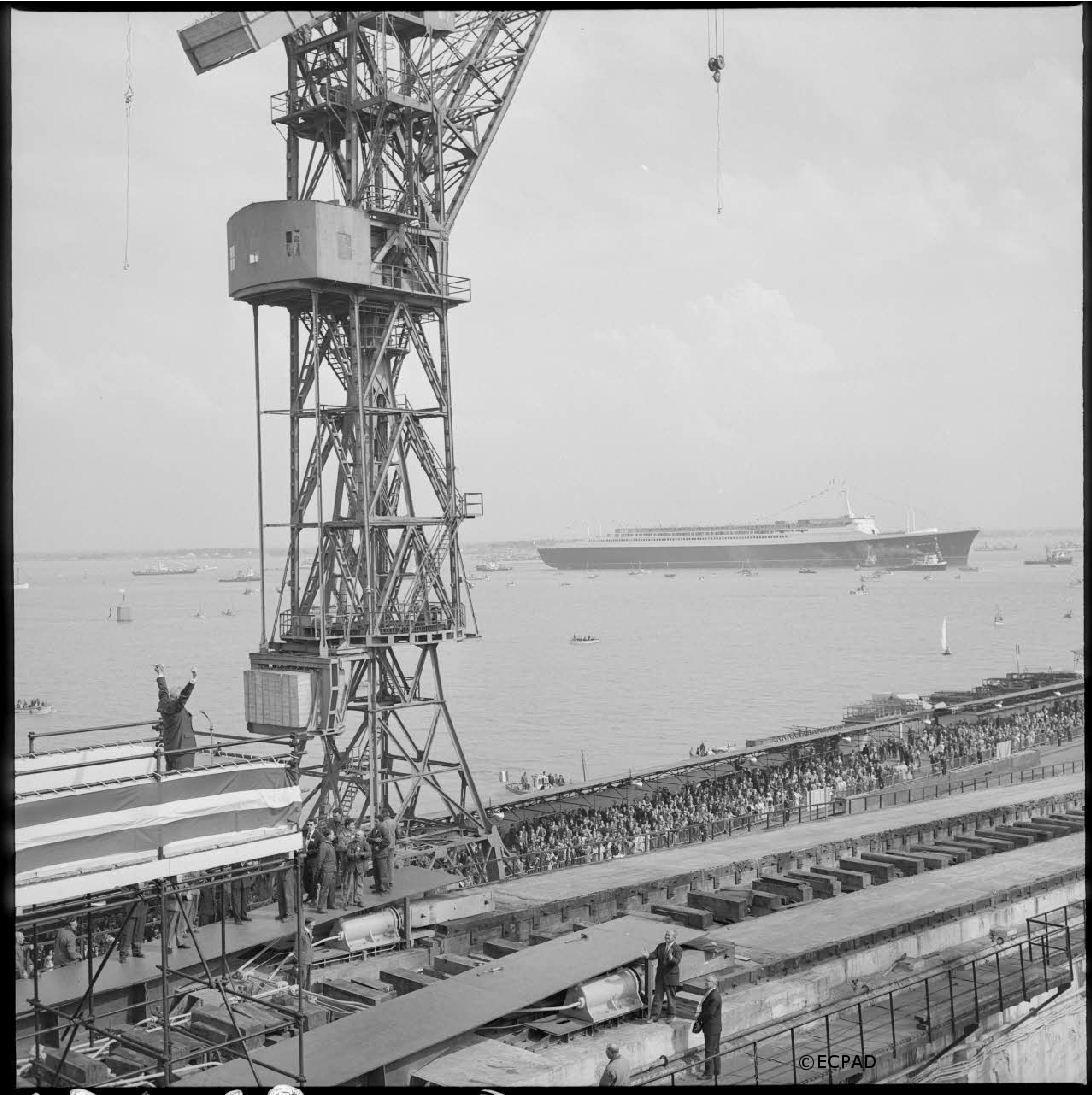11/05/1960 : Lancement du paquebot France