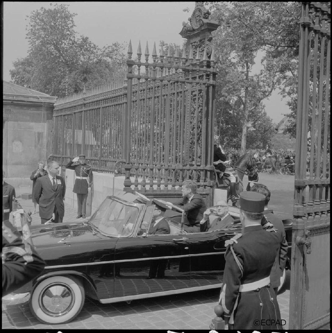 31/05-02/06/1961 : Voyage officiel du président Kennedy en France