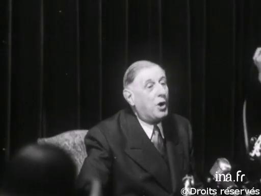 19/05/1958 : Conférence de presse du général de Gaulle