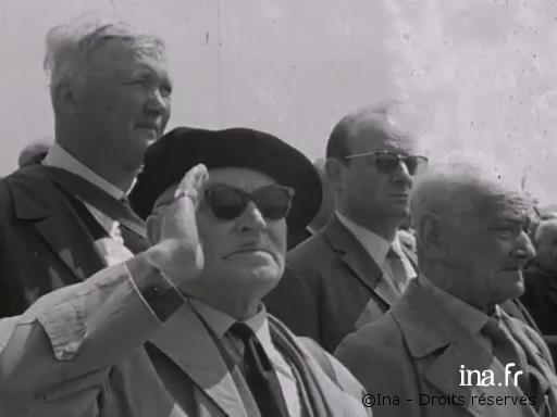 29/05/1966 : Cérémonie du 50e anniversaire de la bataille de Verdun