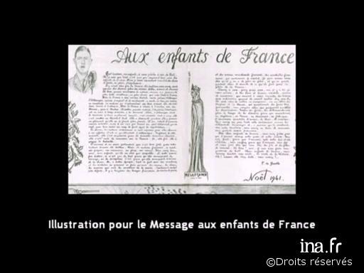 24/12/1941 : Message de Noël aux enfants de France