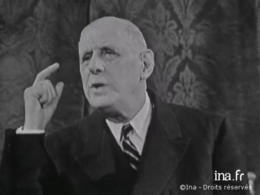 09/09/1965 : Conférence de presse sur l'Europe