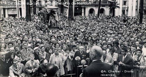 21-23/10/1960 : Voyage dans les Hautes-Alpes, Alpes-de-Haute-Provence, Alpes-Maritimes et à Monaco