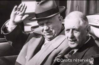 23/03-03/04/1960 : Voyage officiel de Khrouchtchev à Paris