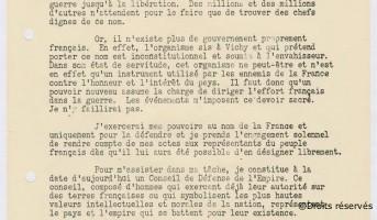 27/10/1940 : Manifeste de Brazzaville