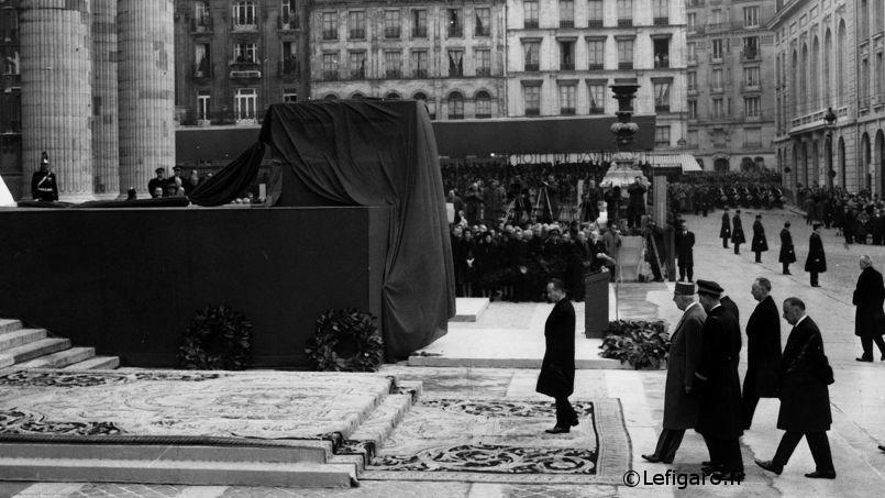 19/12/1964 : Transfert des cendres de Jean Moulin au Panthéon