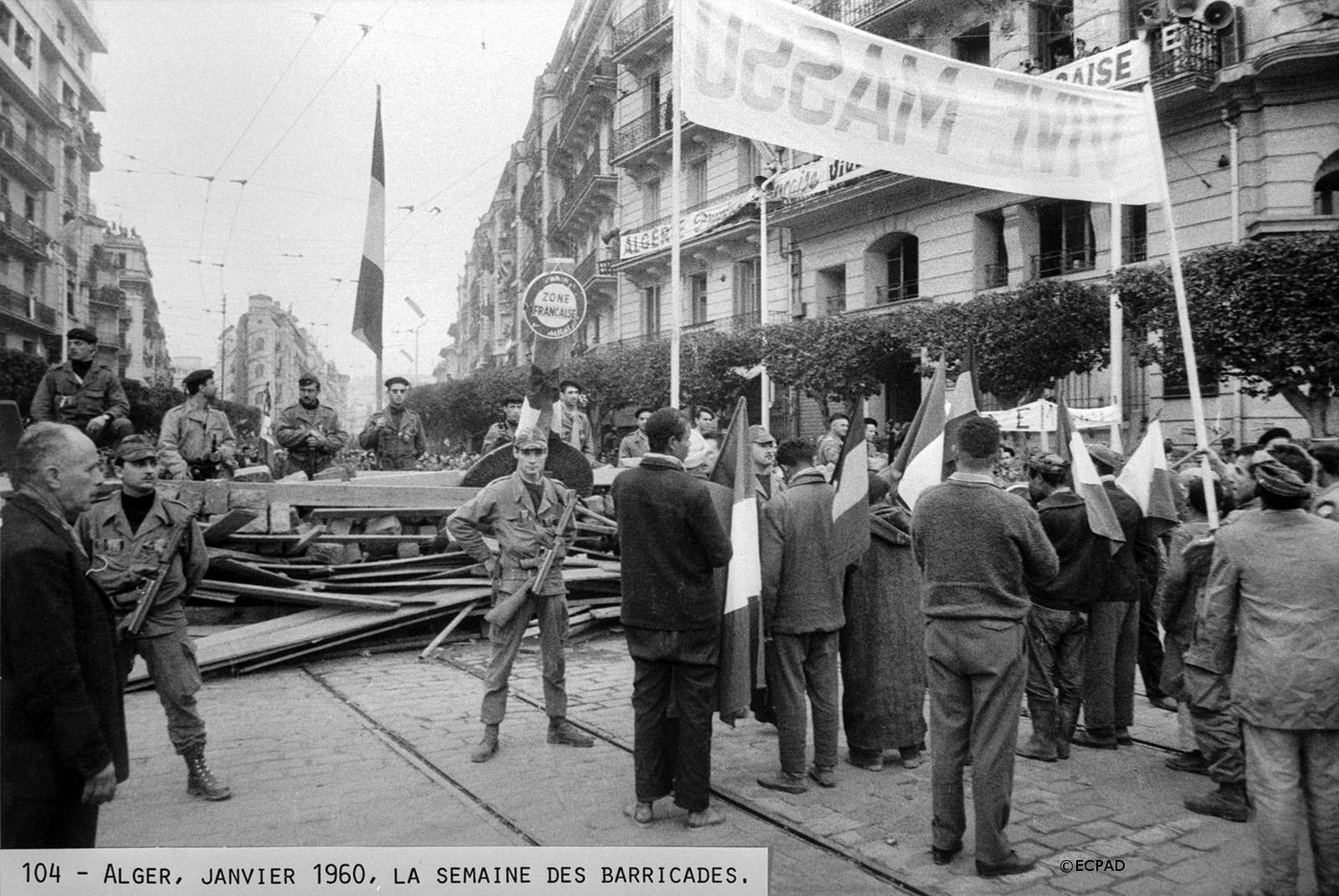 24/01-02/02/1960 : Semaine des barricades à Alger