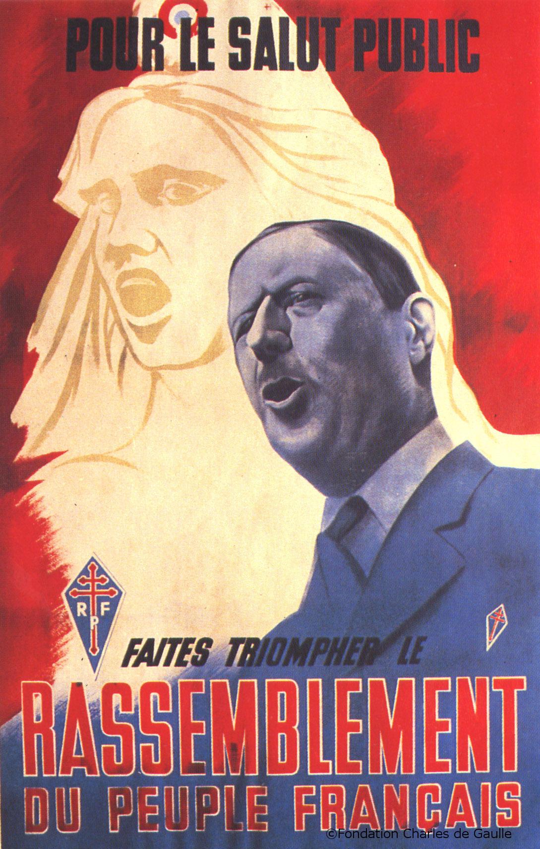 07/04/1947 : Création du RPF