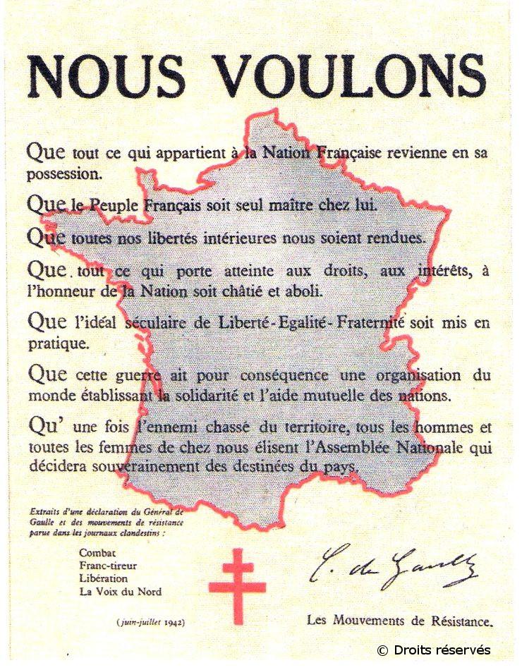 14/07/1942 : La France Libre devient la France Combattante