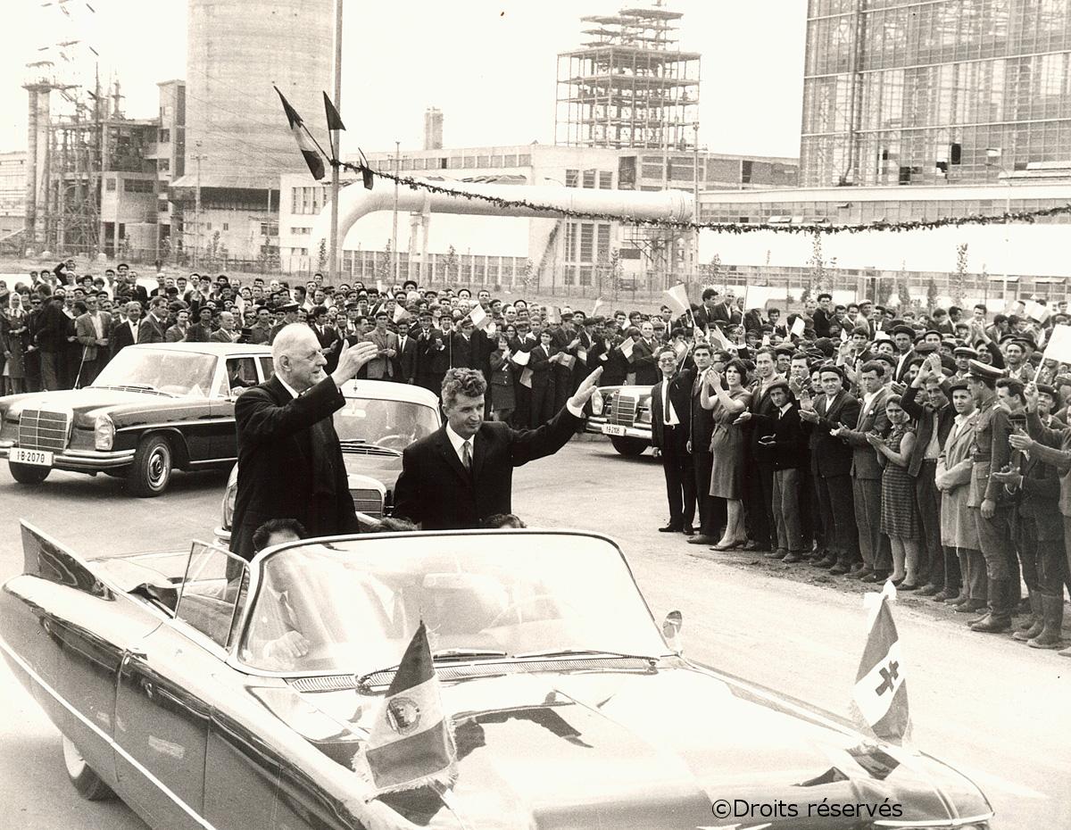 14-18/05/1968 : Voyage officiel en Roumanie