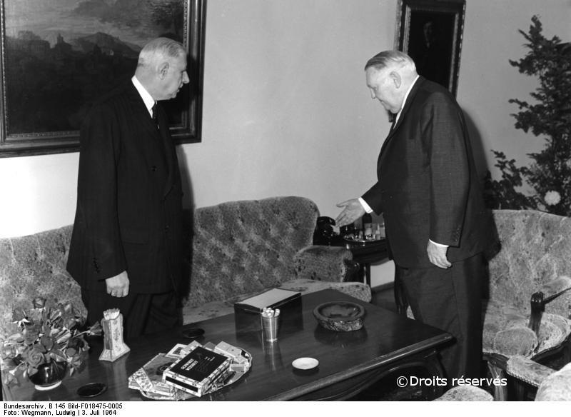 03-04/07/1964 : Voyage officiel à Bonn