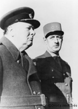 28/06/1940 : Churchill reconnaît Charles de Gaulle comme « Chef des Français Libres »