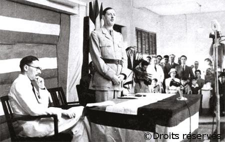 30/01/1944 : Discours d'ouverture de la conférence de Brazzaville
