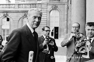 10/07/1968 : Couve de Murville nommé Premier ministre