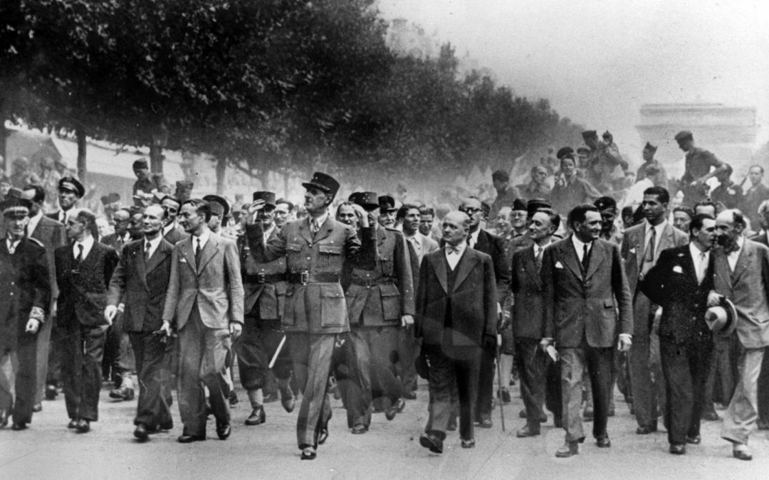 Messe solennelle pour le 77e anniversaire de la Libération de Paris