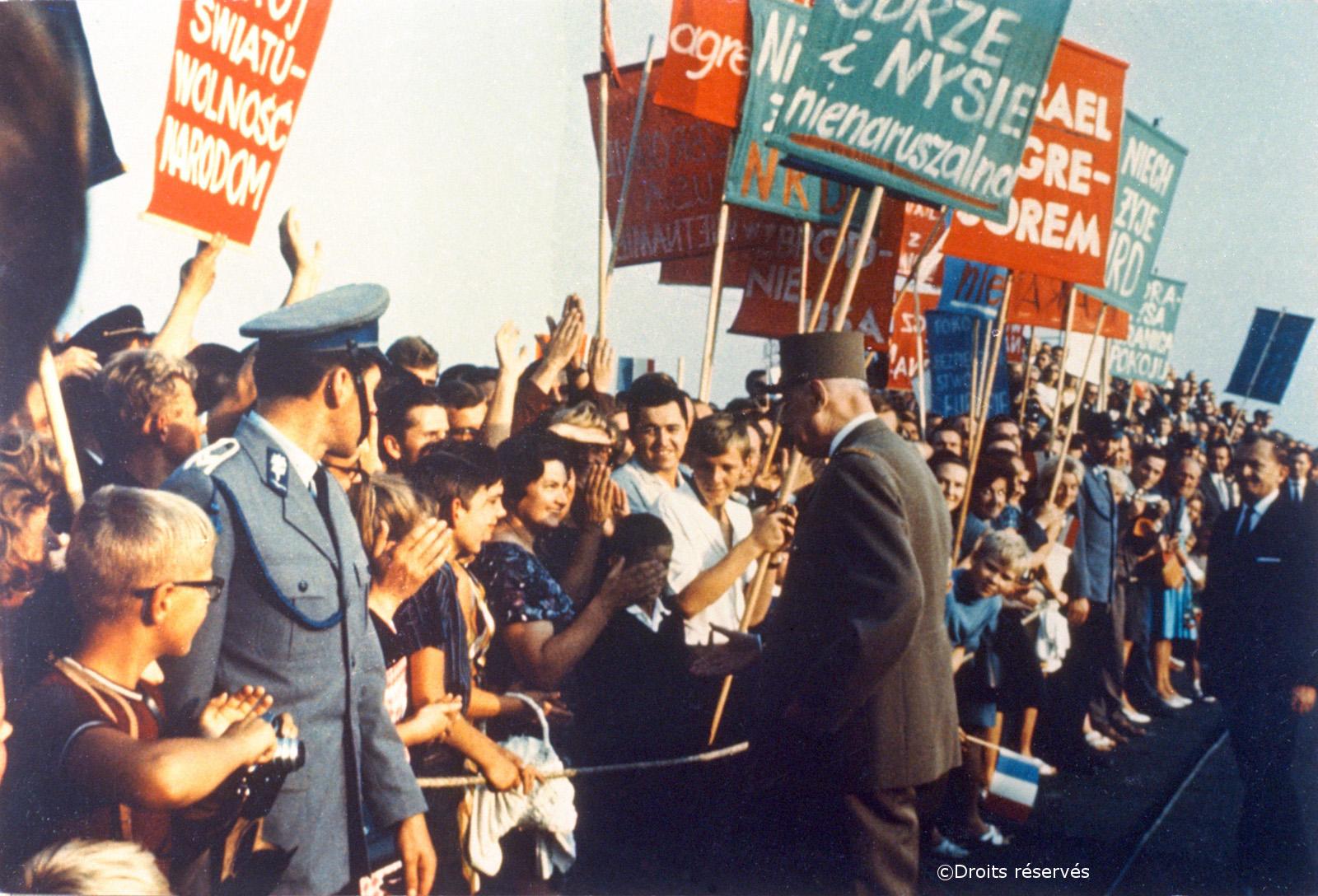 06-12/09/1967 : Voyage officiel en Pologne