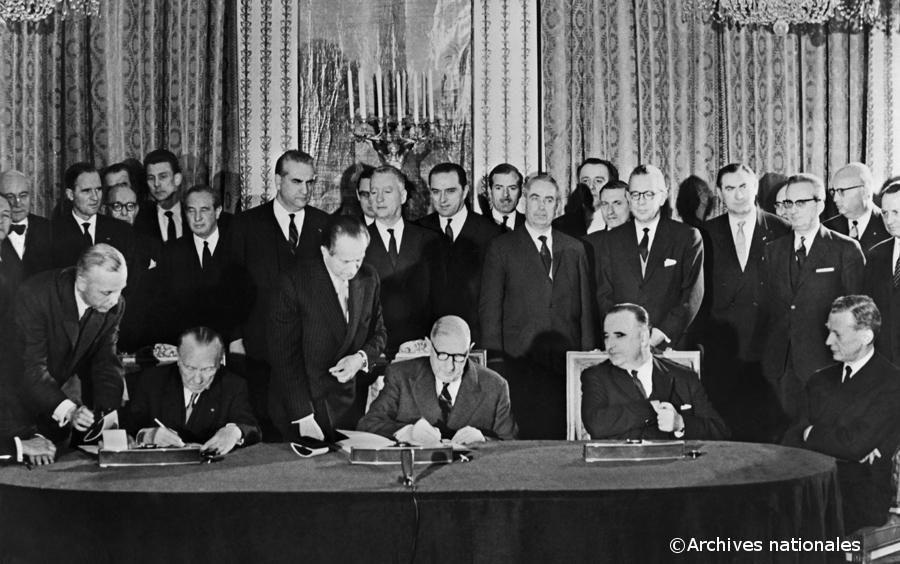 22/01/1963 : Traité de l'Elysée