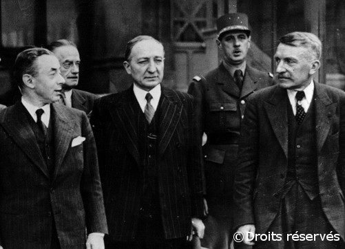 05/06/1940 : De Gaulle est nommé Sous-secrétaire d'Etat au ministère de la Défense nationale et de la Guerre
