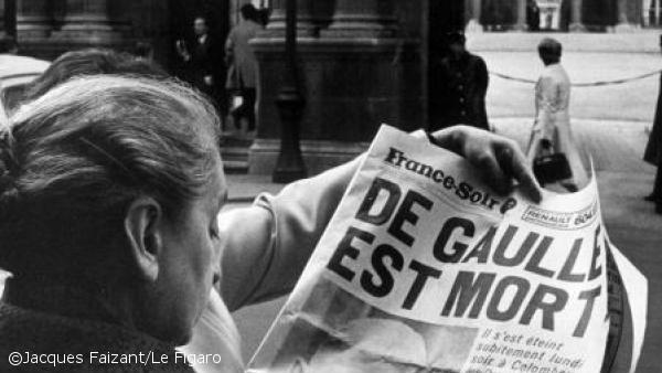 09/11/1970 : Décès du général de Gaulle