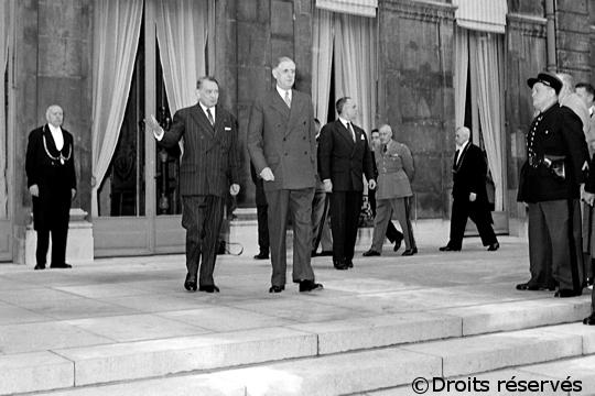 29/05/1958 : Le président Coty fait appel au général de Gaulle pour former un gouvernement