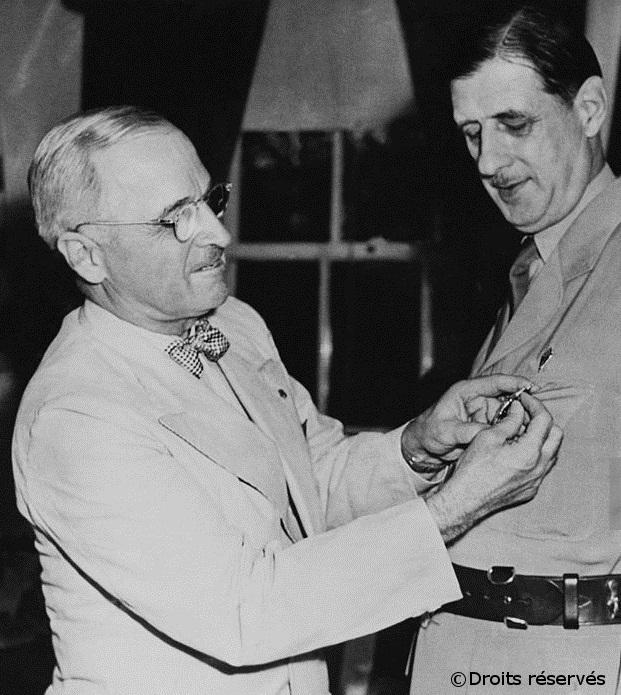 21-31/08/1945 : Voyage officiel aux Etats-Unis et au Canada