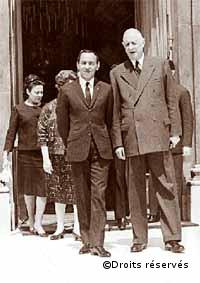 26-29/06/1963 :Voyage officiel d'Hassan II