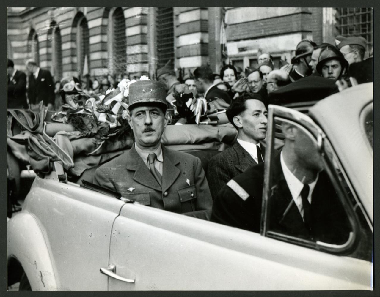 14/09-09/10/1944 : De Gaulle se rend dans les principales villes françaises