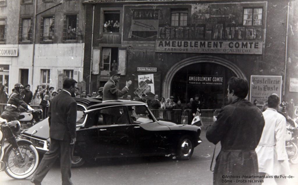 14-15/10/1962 : Voyage dans la Creuse et le Puy-de-Dôme