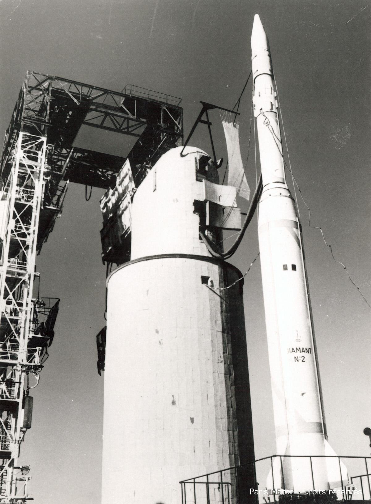 26/11/1964 : Lancement du premier satellite français Astérix