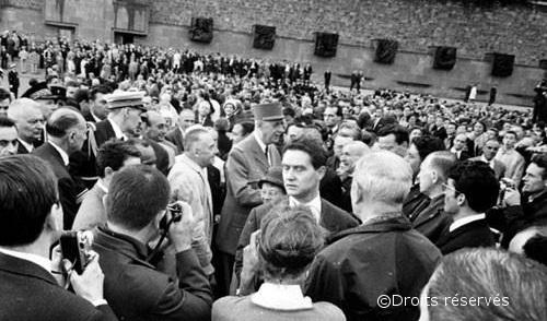 18/06/1960 : Inauguration du mémorial de la France Combattante