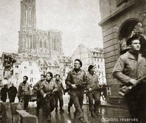 25/11/1944 : Libération de Strasbourg
