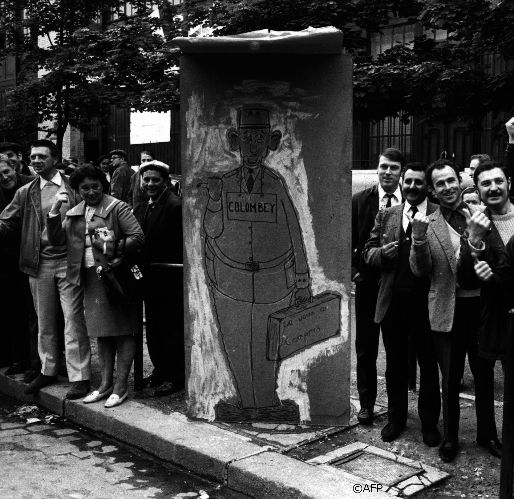 Avril-mai 1968 : Mouvements étudiants et sociaux