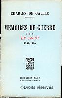 28/10/1959 : Parution du 3e tome des Mémoires de guerre
