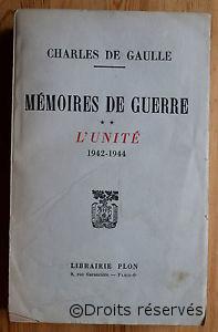 08/06/1956 : Parution du 2e tome des Mémoires de guerre