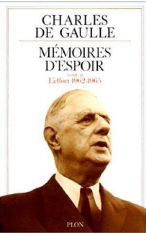 1971 : Mémoires d'Espoir – Tome 2 (inachevé)
