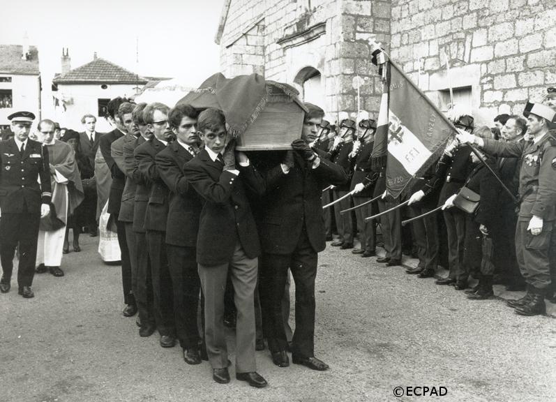 12/11/1970 : Obsèques à Colombey-les-deux-Eglises