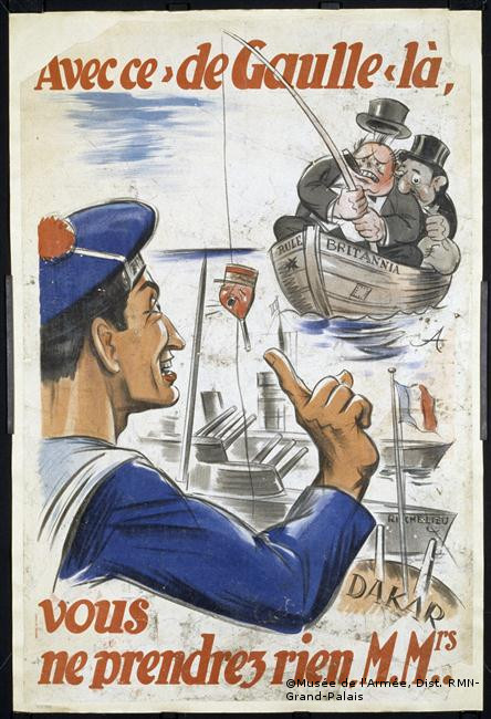 """23/09/1940 : Échec de l'opération """"Menace"""""""