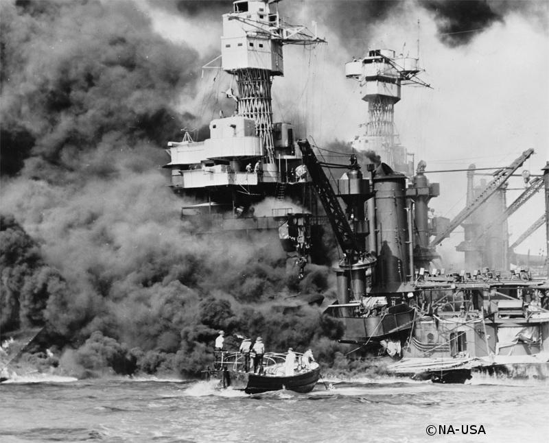 07/12/1941 : Entrée en guerre des Etats-Unis