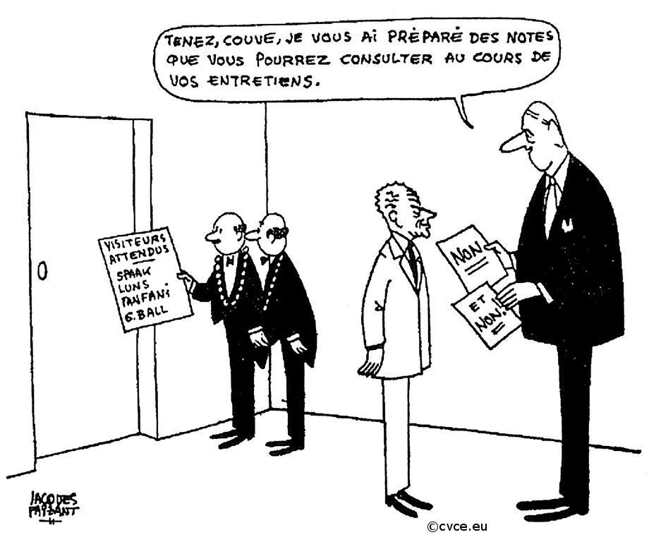 30/06/1965 : Politique de la «chaise vide»