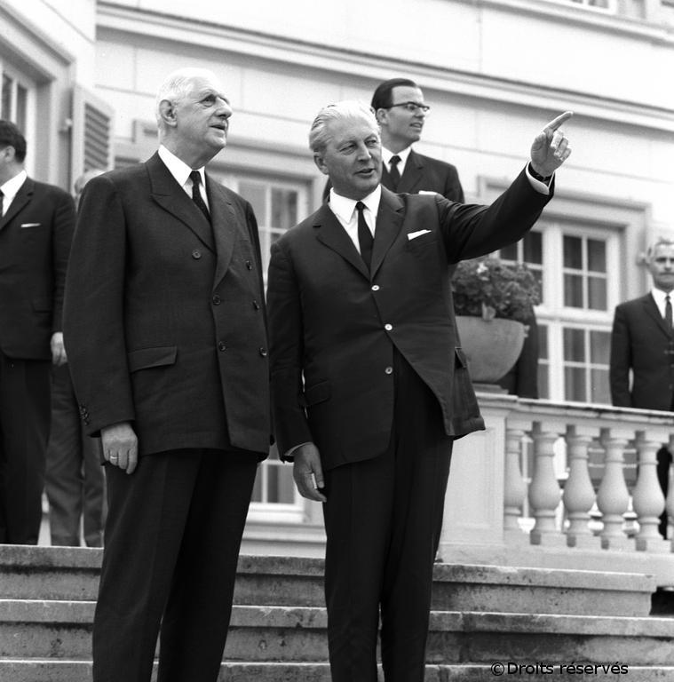 12-13/07/1967 : Voyage officiel à Bonn