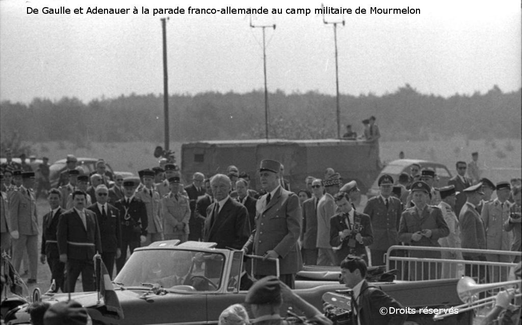 02-08/07/1962 : Voyage officiel en France du chancelier Adenauer